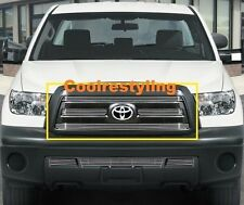 FOR 2010 2011 2012 2013 TOYOTA TUNDRA Billet Grille Grill Combo Inserts 4pcs