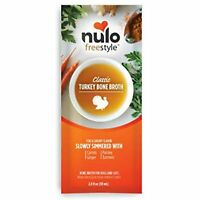 Nulo Freestyle Classic Turkey Bone Broth for Dogs and Cats 2 Ounces
