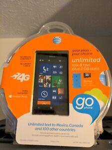 Windows Smart Phone Nokia Lumia 520 AT&T Black 8GB +8GB +Free Accessories New