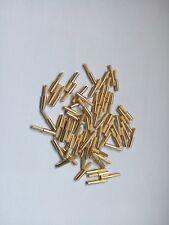 1000 pcs Dental Lab Dowel Pins, Brass,short, for Zeiser, Giroform machines