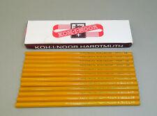 12 Vintage Old Czechoslovakia Pencils KOH-I-NOOR 1500 HB, L&C.HARDMUTH