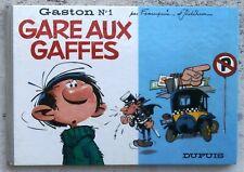Gaston 1 Gare aux gaffes EO 1966 TTBE Franquin Jidéhem