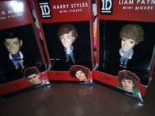 One Direction LIAM PAYNE, HARRY STYLES & ZAYN MALIK Mini Figure NIB Set of 3