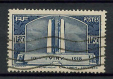 France 1936 SG#550, 1f50 War Memorial Used#A68291