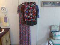 LuLaRoe Lot/4 3 NWT 1 NWOT Pullover Tops Maxi Dress Pencil Skirt For Pet Rescue