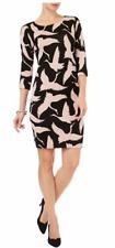 Phase Eight Ladies Brona Bird Print Dress Size UK 18 Ls171 Mm 12