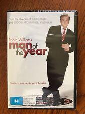Man Of The Year DVD Region 4 New & Sealed Robin Williams