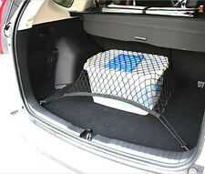 """Black Car Trunk Luggage Cargo Elastic Net 27.5"""" x 27.5"""" for A3 A5 Q3 Bora Golf"""