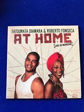 neu Fatoumata diawara roberto Fonseca at Home cd Promo Kopie jazz 2015 Marciac