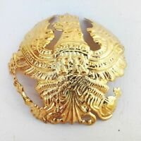 German Pickelhaube Brass Prussia Wapen Badge Prussian Helmet Field Badge gift