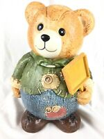 Vintage GKRO Collectable Bear Cookie Jar Circa 1990's GUC w/ Minor Imperfections