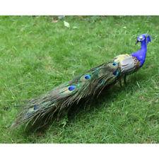 Décoratif de paon oiseau animal extérieur jardin étang décoration de