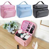 Lady Make Up Bag Storage Cosmetic Beauty Box Travel Vanity Case Organiser Travel