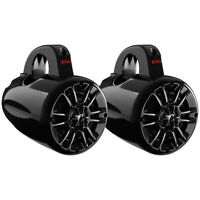 "Boss Audio MRWT40 4"" 400W 2-Way Weatherproof Marine Waketower Speakers, Pair"
