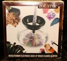 Nib Zoe Ayla Revolutionary Electronic Makeup Brush Cleaner & Dryer