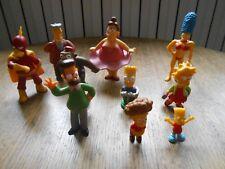 Lot de 10 figurines PVC Les simpson - The Simpsons (K)
