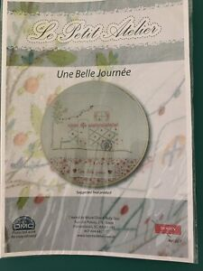 Travel Trailer Embroidery Kit By Le Petit Atelier