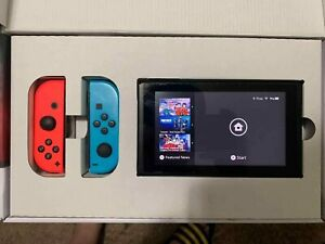 Nintendo Switch - Neon Red and Neon Blue - WITH EXTRAS!!