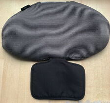 Maxi Cosi Pearl Group Car Seat Head Rest Cover - Black/Grey Support