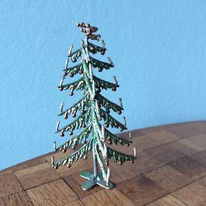 Alter Weihnachtsbaum Zinn   Puppenstube Puppenhaus dollhouse Christmas tree