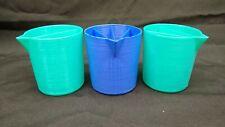 3 8oz Acrylic Paint Pouring Split Cups 2, 3, 4 Channels Fluid Pour Art Supplies