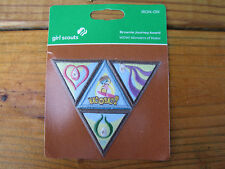 Girl Scout Iron-On Patch Brownie Journey Award Wow! Wonders Of Water