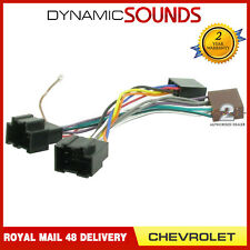 CT20CV01 Car Stereo Radio Wiring Harness Adapter Lead ISO Loom For Chevrolet