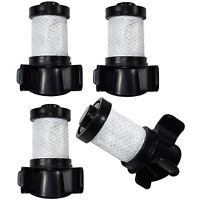 4x HQRP Pre-Motor Filter for Shark ION Cordless Vacuum, XPREMF100 Replacement
