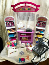 1998 Barbie Toys R Us Playset Toy Store Complete Clean