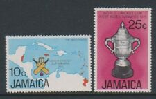Jamaica - 1976, World Cup Cricket set - MNH - SG 419/20