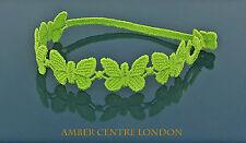 Genuine Italian Made Cruciani Bracelet- BUTTERFLY-LIBERTA-FREEDOM-Light Green