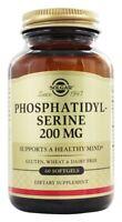 Solgar Phosphatidylserine 200 mg, 60 Softgels