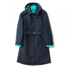 Seasalt Westerly Mac - Fathom. a Navy Blue Waterproof Coat With Jade Lining 16