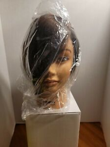 Celebrity Gabriela  cosmetology Manikin head, Brown ..Burmax
