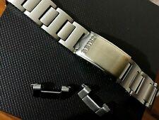 19mm Seiko pepsi pouge 6139 6000 6002 6005 gents watch strap bracelet s/steel.