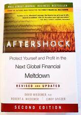 Aftershock Next Global Financial Meltdown David Wiedemer FREE SHIPPING