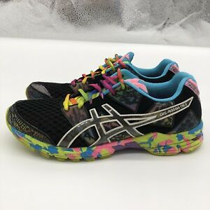 asics gel noosa Tri 8 Running Shoes Colorful Bright Women's Size 9