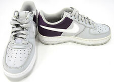 Nike Shoes Air Force 1 Low Gray/Purple/White Sneakers Men 4.5 Womens 6.5