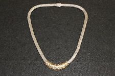 """John Hardy 18"""" .925 Silver Necklace with .925 18k Gold Pendant (31365)"""