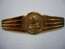 Bundesmarine Tätigkeitsabzeichen Schiffstaucher in gold Metall TTA