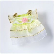 Sylvanian Families Epoch Girls clothes Ballerina tutu (yellow) limited JP F/S