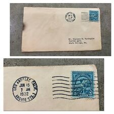 US FDC FIRST DAY COVERS # 718 OLYMPICS 1932 Stamp Los Angeles Olympiad 5 Cent