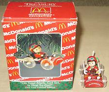 Décoration de Noel / Christmas Ornaments McDonalds Enesco