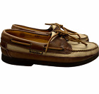 Mephisto Spinnaker Mens Size 8 1/2 Light Brown Leather Deck Boat Shoes