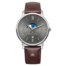 Maurice Lacroix EL1108-SS001-311-1 Mens Eliros Brown Leather Strap Watch £595