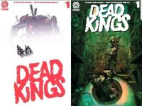 DEAD KINGS 1 A & B 2-SET VARIANT AFTERSHOCK COMICS  SOLD OUT DOW