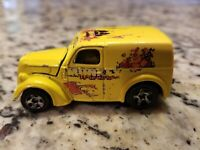Hot Wheels 1999 monkey wrenches Wagon with Opening Hood STICKERS FADED FREE SHIP