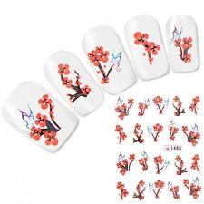 Tattoo Nail Art Kirschblüten Japan Flower Aufkleber Nagel Sticker Neu!