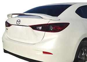 Fits: Mazda 3 2014-on Hatchback SpoilerKing 244L Rear Trunk Lip Spoiler Wing