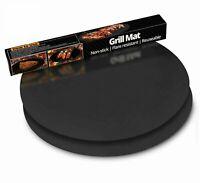 Runde BBQ Grillmatte antihaft Rundgrill non-stick Unterlage Smoker 40 52